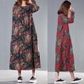 Pregnant Women Dress Summer New Floral Print Dresses Bohamian Maternity Dresses Womens Holiday Long Dress Large Size CE440