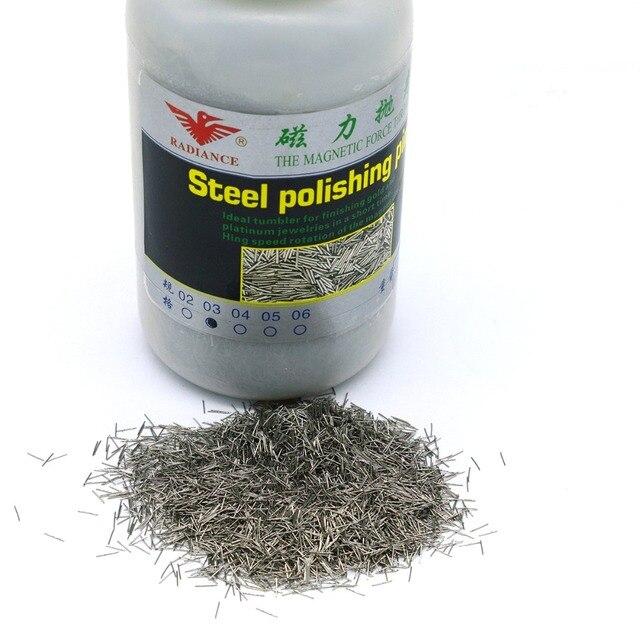 1000g Polieren Nadeln Edelstahl Pins Magnetic Tumbler Mag Polierer 0,2mm/0,3mm/0,4mm/ 0,5mm/0,6mm