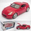 Alta simulación 1:24 modelo de coche, Nissan 370Z, Colección de regalos. metal Funde, vehículos de juguete, de alta gama de adornos, envío gratis