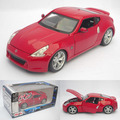 High simulation 1:24 car model,Nissan 370Z,Collection of gifts.metal Diecasts, toy vehicles, high-end ornaments, free shipping