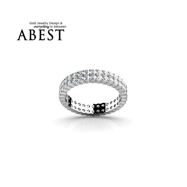 Silver Wedding 925 Sterling Silver Rings for Women Engagement Simulated Diamond Anniversary Ring Fashion Jewelry