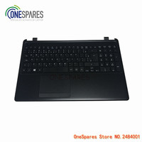 NEW Original Laptop LCD Pad Panel Palmrest Touchpad Cover For ACER Aspire E1 E1 522 With Keyboard Cover Black SGM604YU080