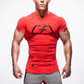 2016 new arrival stringer T-shirt man fitness bodybuilding and fitness jerseys tank shirt, sportswear