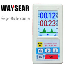 Geiger counter Nuclear radiation detector Personal dosimeters Marble detector nuclear radiation tester With a display screen nuclear radiation tester with japanese english version system personal dosimeter radiation alarm