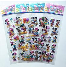 3 шт./компл. детей Прекрасный мыши Стикер габаритный 3D мультфильм ПВХ наклейки пузырь девушки/мальчики подарок на день рождения детские игрушки