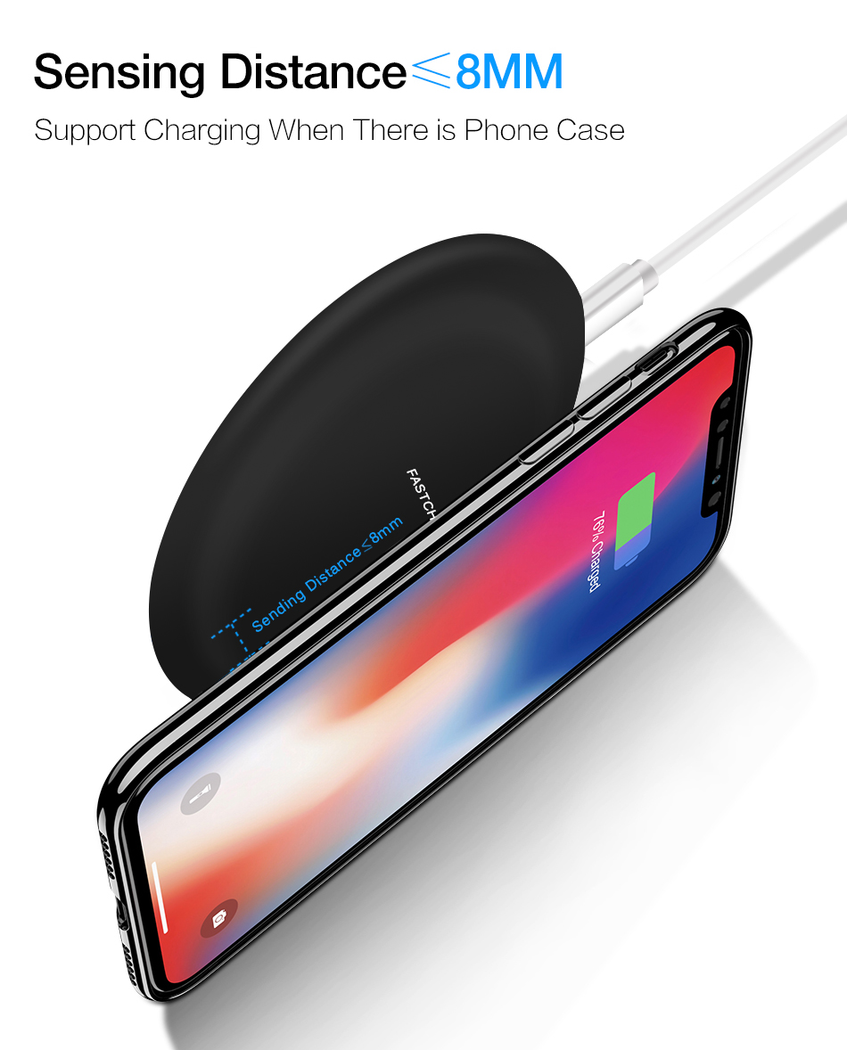 wireless charger iphone 7.5w 5