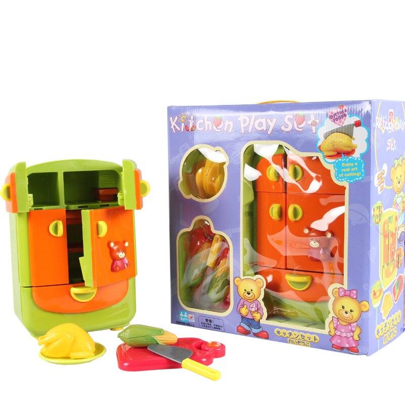 bambini cucina giochi per bambini giocattoli frigo per le ragazze di cottura bambini pretend gioca giocattoli