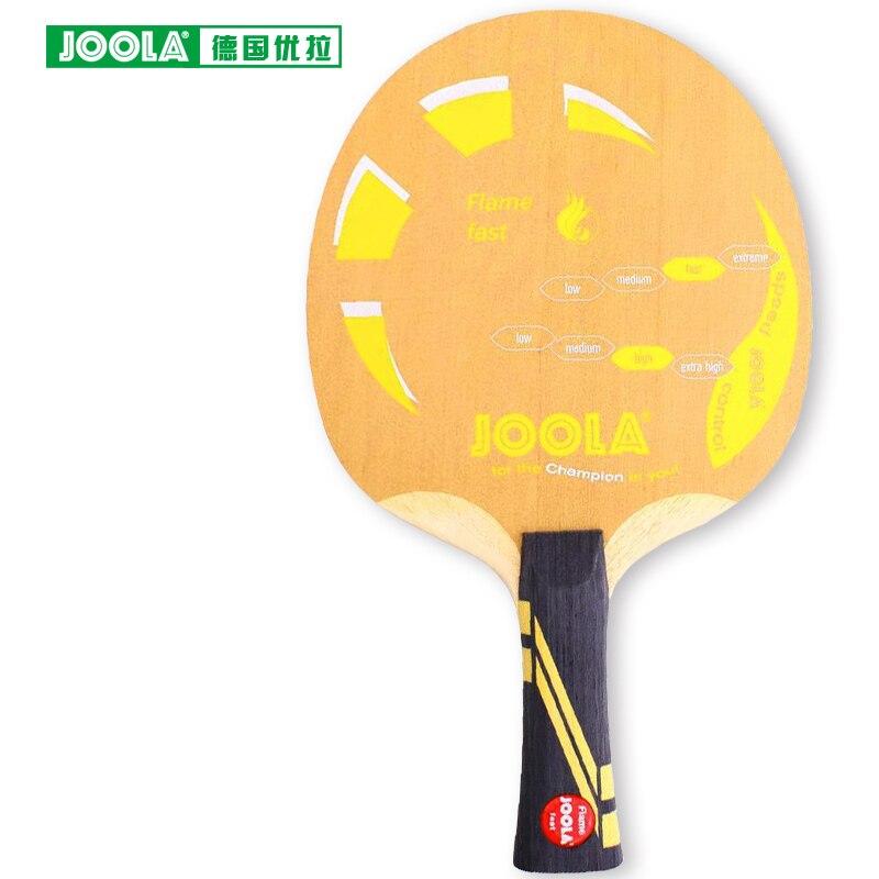Original Joola FLAME fast Table Tennis Blade Ply Wood Racket Ping Pong Bat Tenis De Mesa