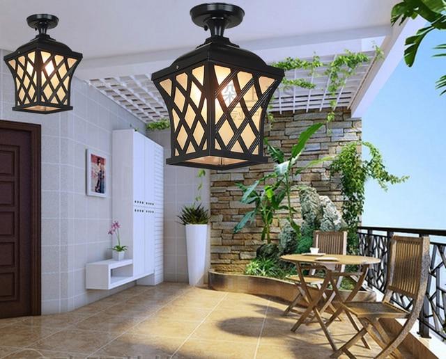 Lampade A Sospensione Allaperto : Outdoor lampade da soffitto lampada da giardino impermeabile luci