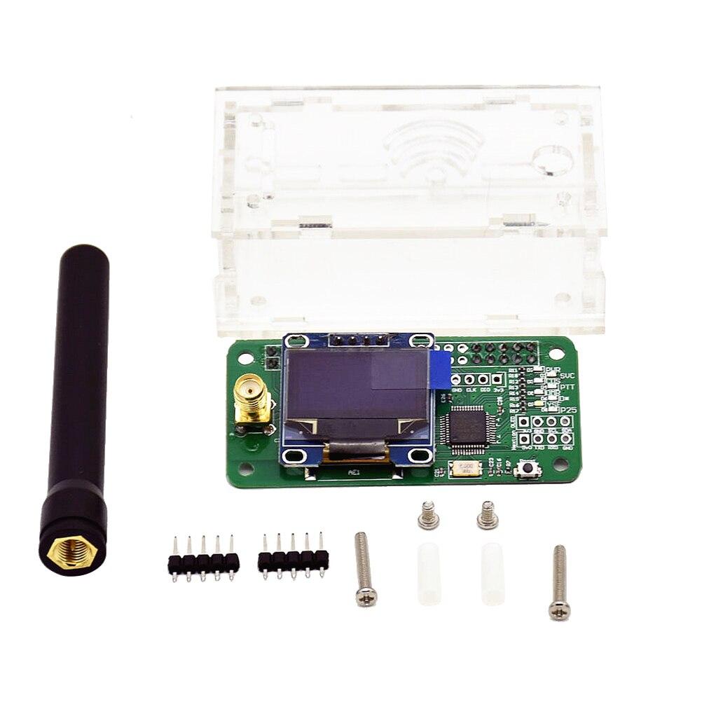 Set of MMDVM DMR Hotspot Module Antenna Case and Accessory Kits Support YSF DIY DMR OLED Raspberry Pi MMDVM P25 педали велосипедные dmr v 12 алюминий белый dmr v12 w9