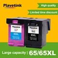 Plavetink для HP 65 65XL совместимый картридж Замена для HP DeskJet 3723 3732 3752 3755 3730 3758 все-в-на принтер чернила