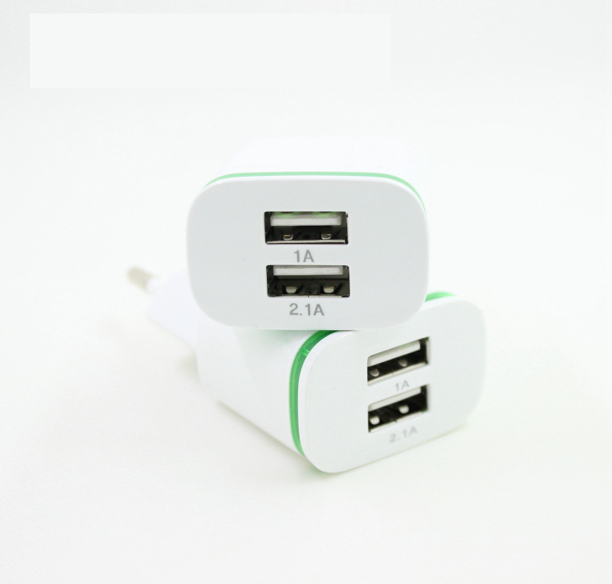 5V 2.1A Travel USB Charger Adapter EU Plug Mobile Phone for Senseit E400 E500 L100 P101 L108 L301 P211 +Free usb type C cable