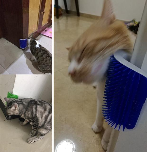 Cat Grooming Tool Hair Removal Brush 4