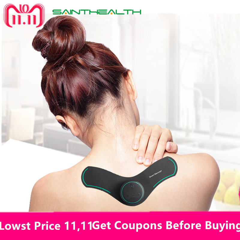 New Multifunction Body Massage electric muscle stimulator Acupuncture Neck Back Massager Tens Therapy Massage Pad relaxation portable patch muscle stimulator neck body massager acupuncture relief pain tens magnetic therapy electric massage relaxation
