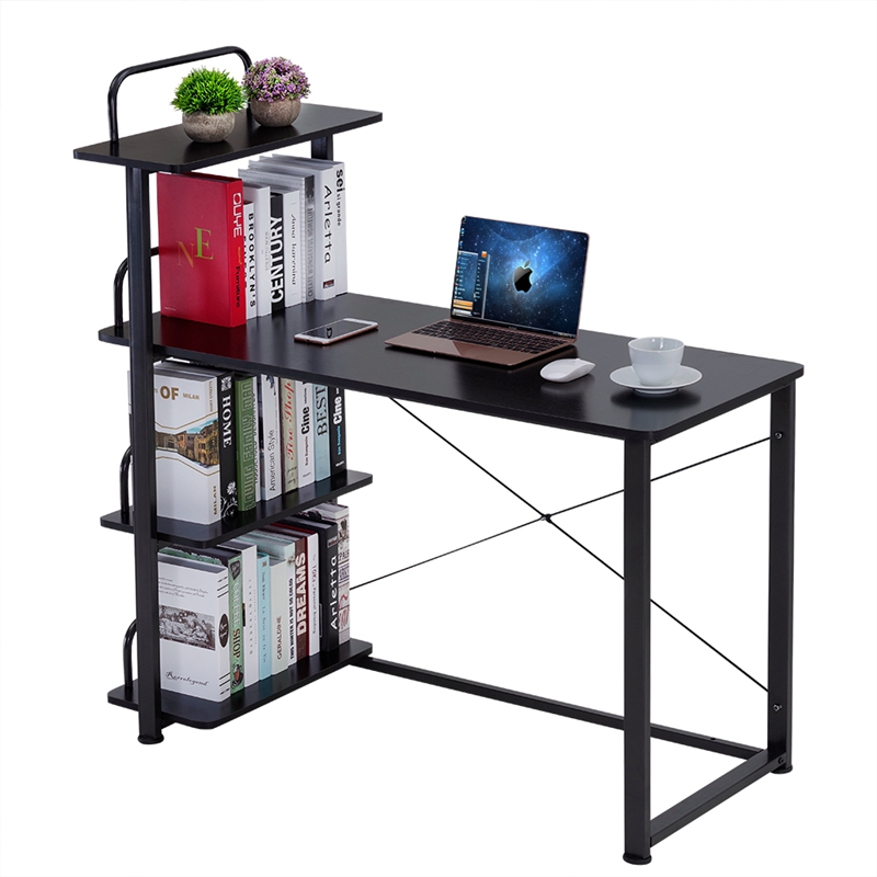 Modern Home Office Desk Corner Computer PC Table Workstation with ...