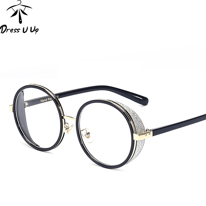 DRESSUUP Mix Gold Glasses Frame Women Glasses Frame Optical Men Clear  Fashion Eyeglasses Frames Spectacles Oculos De Grau 4887927a65
