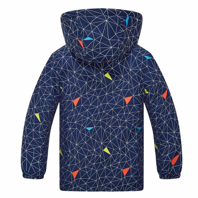 Baby Boys Coats Children Kids Windproof Waterproof Jackets Double-deck Warm New Fashion Boys Spring Autumn Winter Jackets 3-12Y
