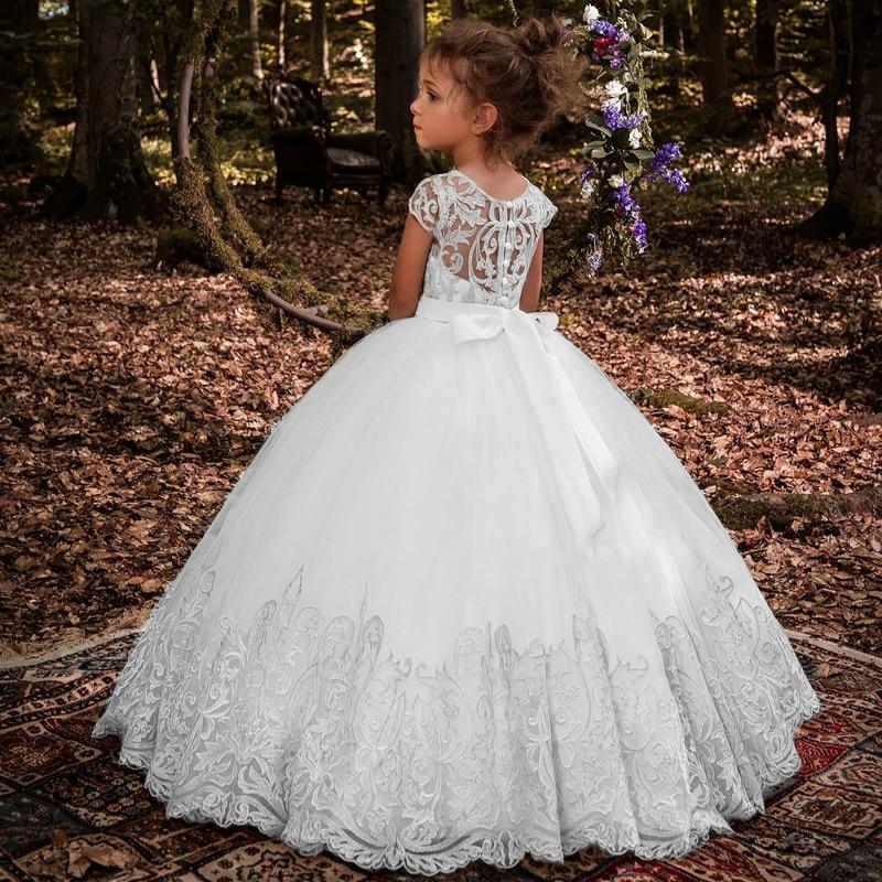d862bfca283ab Flower Girls Princess Dress Girl Party Dress Wedding Dress Kids Lace Ball  Gown Christmas Birthday Clothes. sku: 32969624142