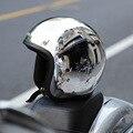 Nuevo Diseño Llamativo de La Motocicleta Open Face Casco Retro 3/4 Cascos Capacete casco de moto casco fresco dot aprobado tamaño sml xl XXL