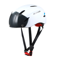 FTIIER Cycling Helmet Mountain Bike Helmet Professional Ultralight Integrally-molded Adult Matte goggles Bicycle Helmet
