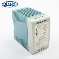 DIANQI MDR 100 12V 5V 15V 24V 36V 48V 100W Din Rail Power Supply Ac Dc