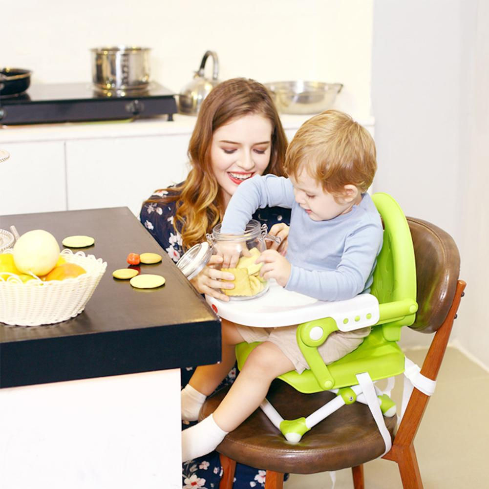 6-36 mois bébé Table à manger chaise multi-fonction pliante Portable Table infantile BB tabouret enfants siège pour enfants grande quantité