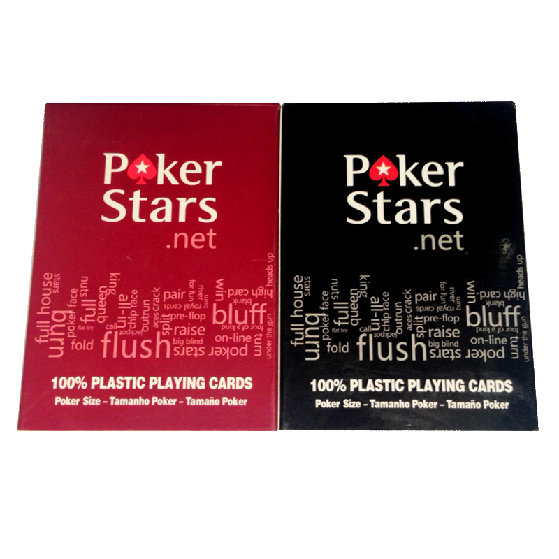 1 lote Poker Games Texa Holdem Card Game Poker Game Card Plastic Waterproof DWater and D ...