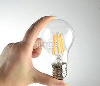 Antique Retro Vintage Screw Globe Light Bulb E27 220V Light Bulbs 4W 6W 8W Filament Bulb