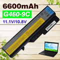 6600 mah batería para lenovo ideapad g560 v360 v370 v470 b470 g460a/l g560 z460 z465 z560 z565 lo9s6y02 lo9l6y02 l10p6y22
