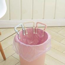 Дешевые 1 шт./компл. практические мусорный бак зажим Пластик мусорный мешок неподвижной заклепкой мусорное ведро сумка держатель зажим для мусорного пакета дома Kicthen продукта