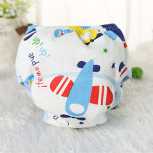 1Pcs Cute Baby Diapers Reusable Washable Cloth Diapers Infants Baby Cotton Pee Potty Training Pants Cute Diaper Nappy Packs(China)
