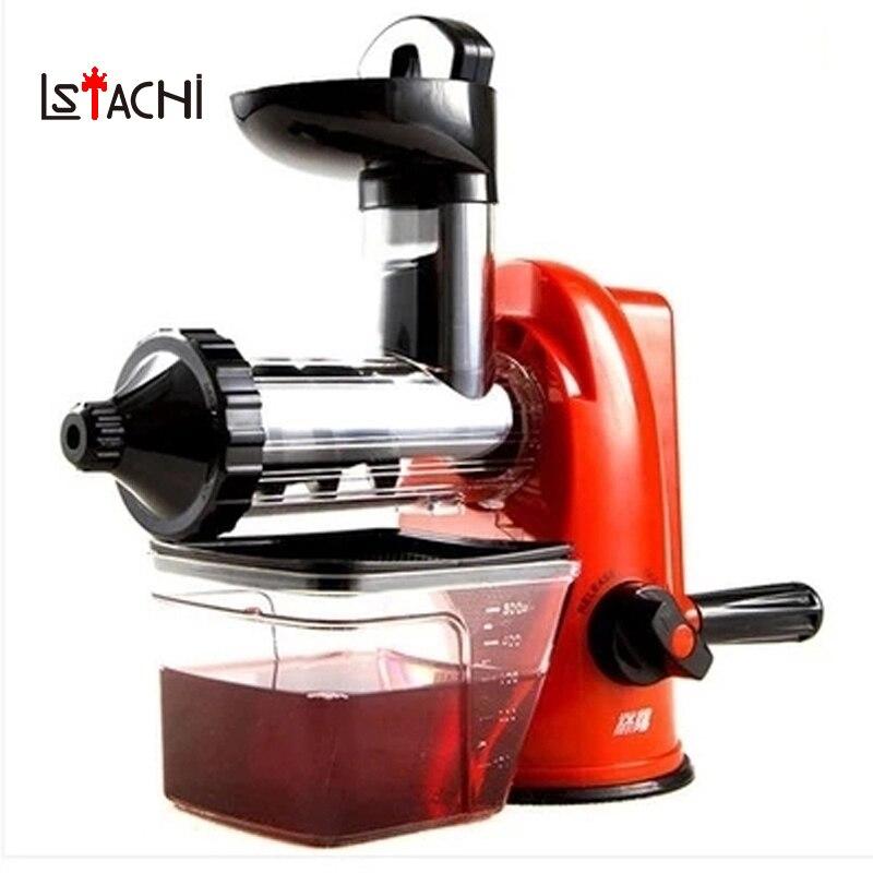 LSTACHi Multifunction Home Manual Juicer Fresh Apple Orange Wheatgrass Portable DIY Juicer Machine Health Kitchen Tools