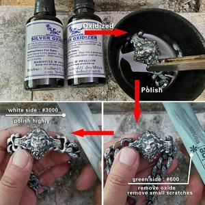 Image 4 - LINSION Details 925 Sterling Silver Lion Chain Mens Biker Rock Punk Bracelet TA146