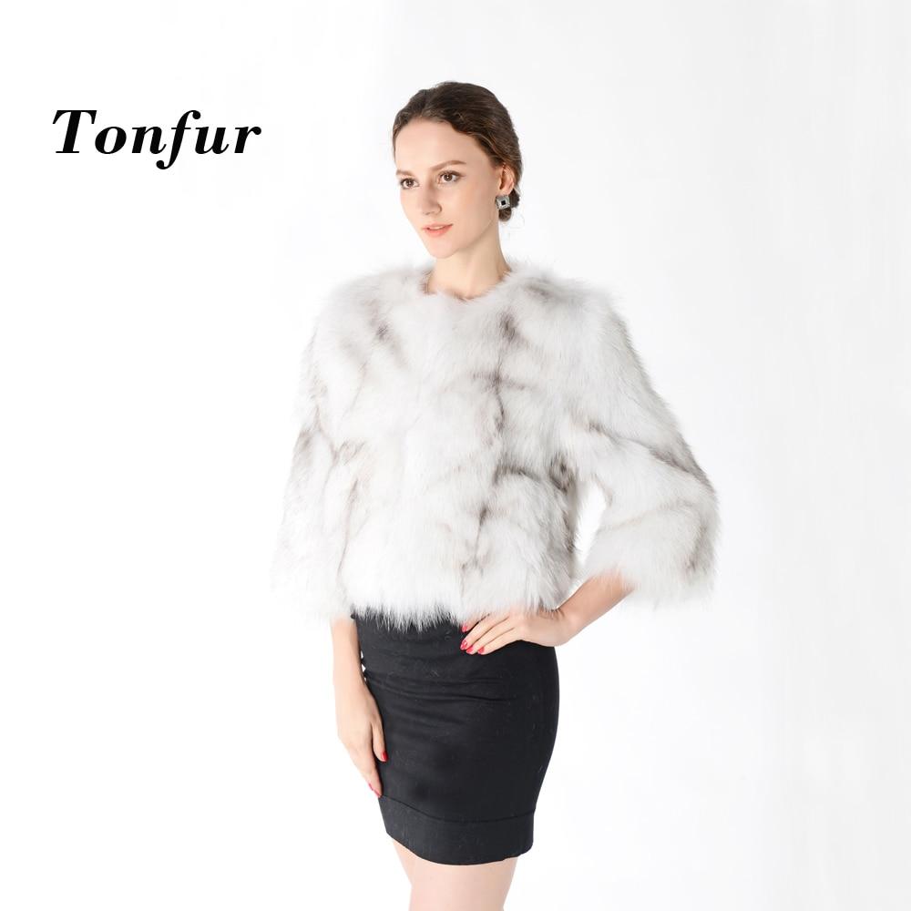 100 True Fox Fur Coat Pure genuine Natural Fur Jacket Real Fox Fur Waistcoat Fashion Factory