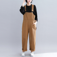 Women Denim Rompers 2019 Spring Summer Plus size Casual Bib Pants Female Jumpsuits Jeans Trousers Strap Female can be adjusted