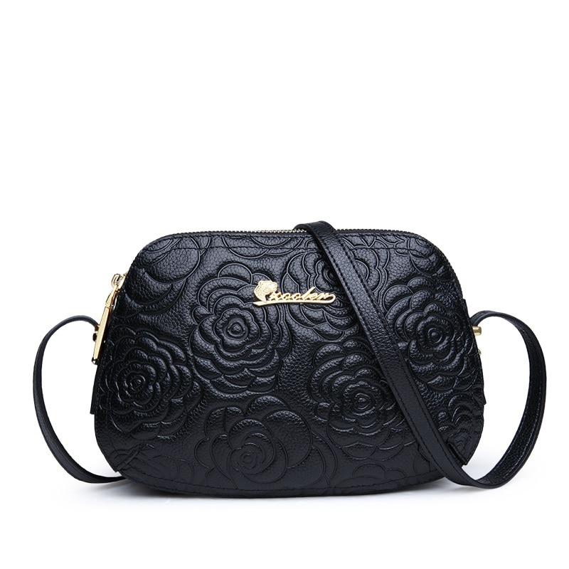 Classic! ZOOLER Shoulder Cow leather bag Luxury Handbags Women Bags Floral Pattern Bag Ladies 2019 Fashion Bolsa Feminina #2355