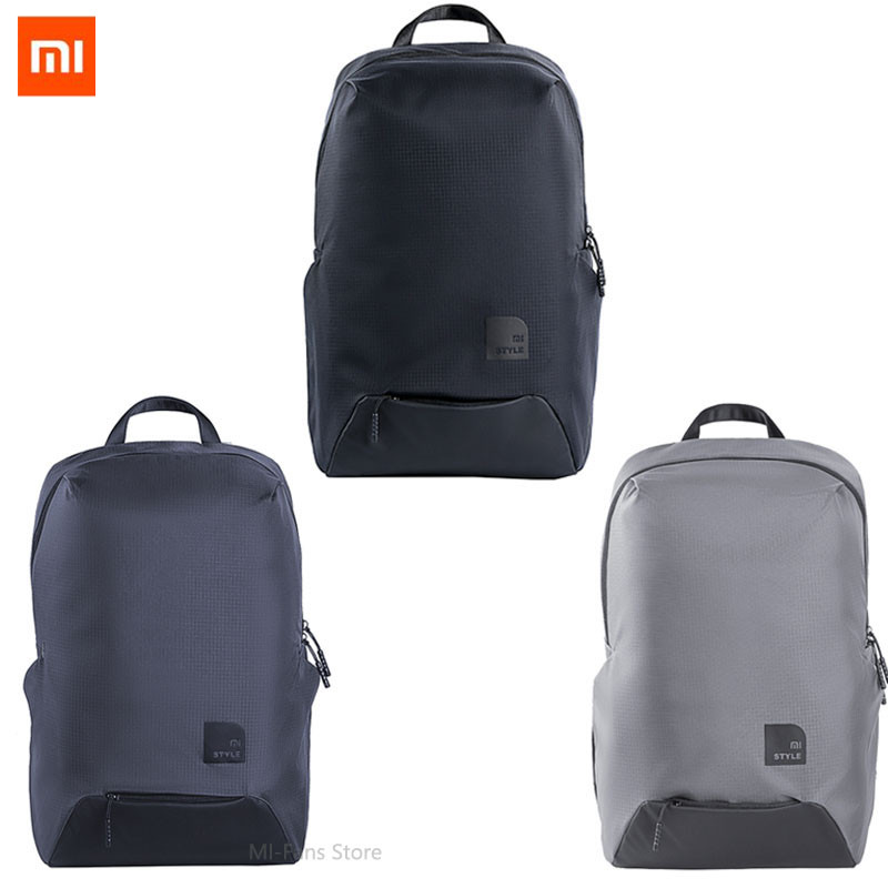 Newest Xiaomi Leisure Sport Bag Thin Travel Backpack 23L Polyester Durable IPV4 Waterproof Outdoor Bag For