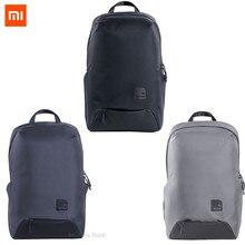 Najnowszy Xiaomi rozrywka torba sportowa cienki plecak podróżny 23L poliester trwała IPV4 wodoodporna torba na zewnątrz dla mężczyzn kobiet Student