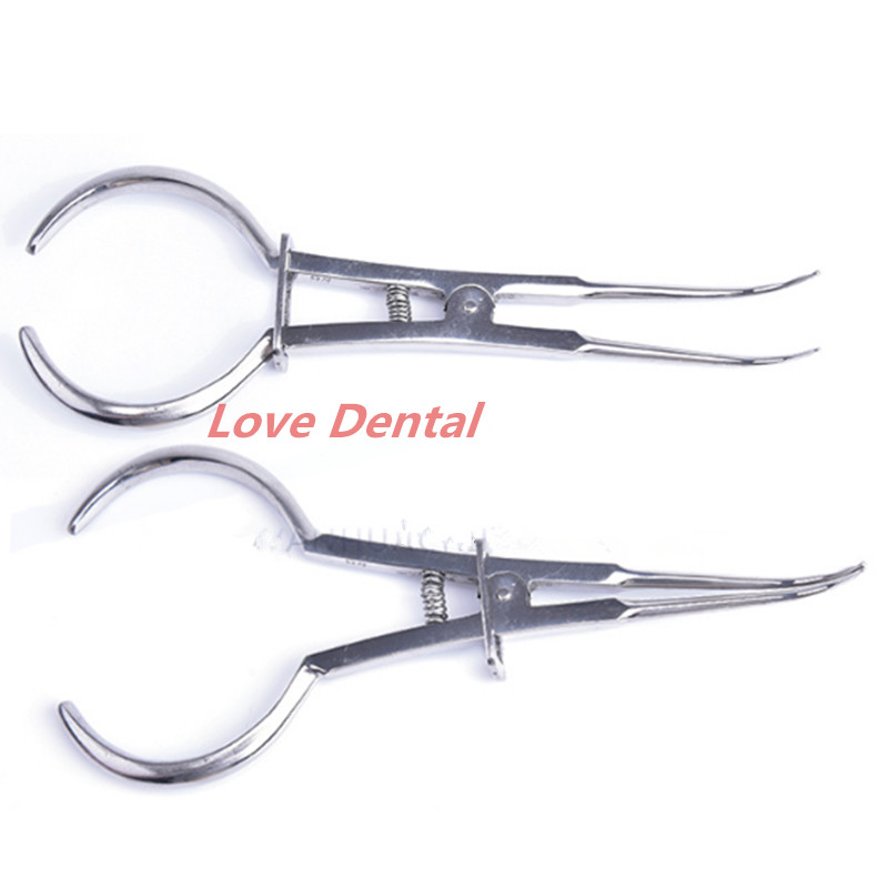1pcs Tooth Ring Dental Placing Forceps Ring Arranged for Rubber Ring Placed Orthodontic Pliers Tools Clamp Forceps Orthodontic un arranged marriage