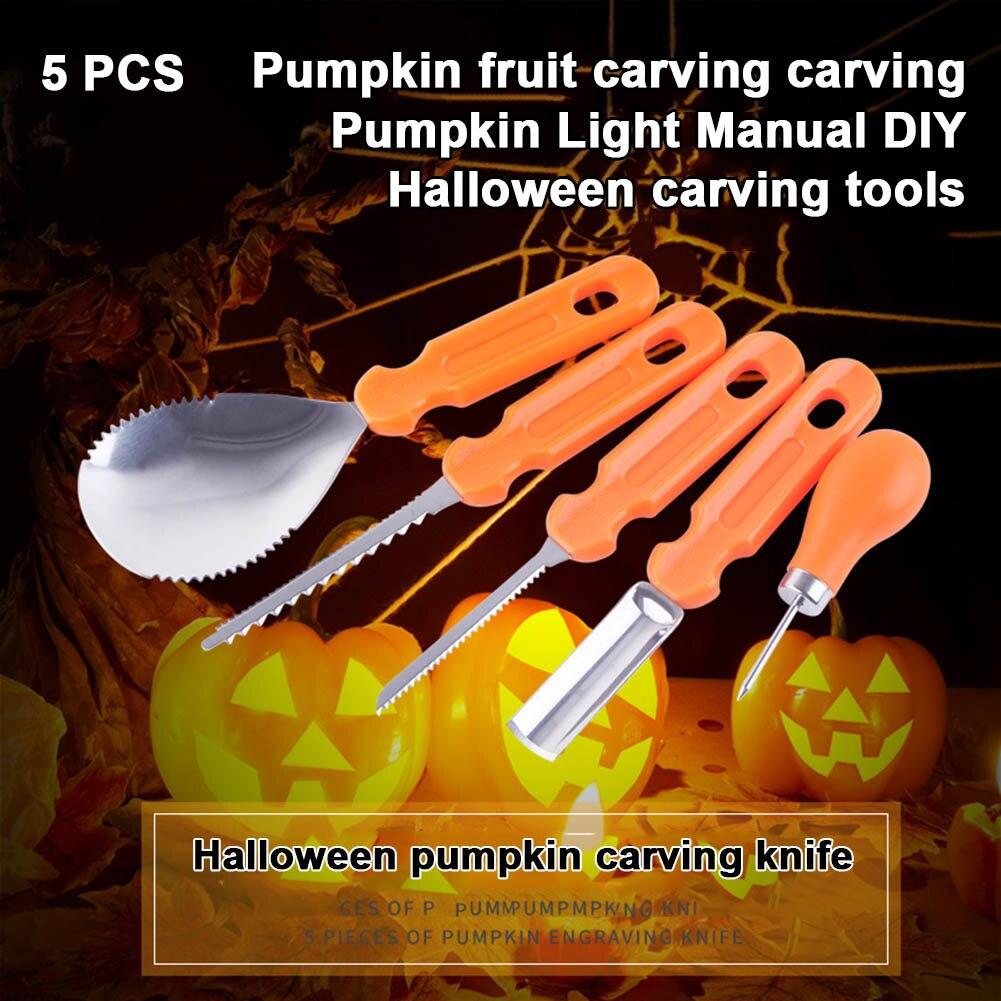 5/14Pcs Professional Pumpkin Carving…