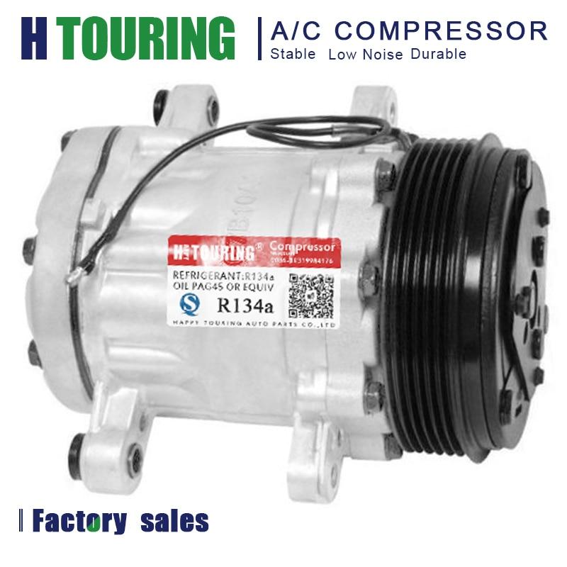 New A//C Compressor For 7176 7512769 SANDEN 7B10 7B10 SD7B10