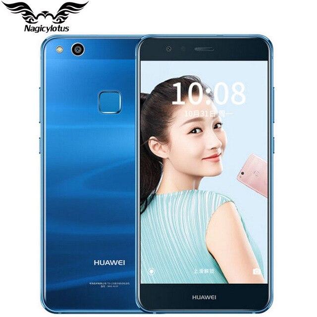 Оригинальный Huawei NOVA Lite 5.2 дюймов 4 ГБ ОЗУ 64 ГБ ROM мобильный телефон KIRIN 658 Octa core FHD 1920x1080 P 4 г LTE отпечатков пальцев ID