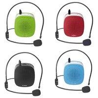 Draagbare Voice Speaker Versterker voor Touring Gids Professionele Onderwijs Openbare Toespraak 4 kleuren Universal voice Mini-5W speakers