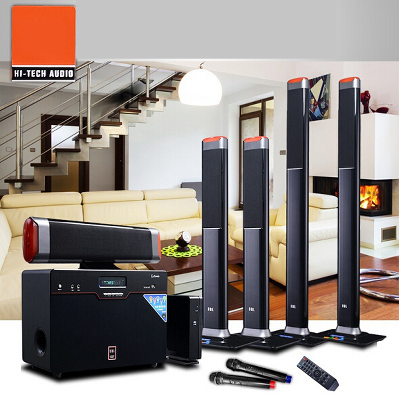 Wireless 5.1 Surround Home Theater Speakers Sound Card Fiber Coax Living  Room TV Speaker In Home Theatre System From Consumer Electronics On  Aliexpress.com ...