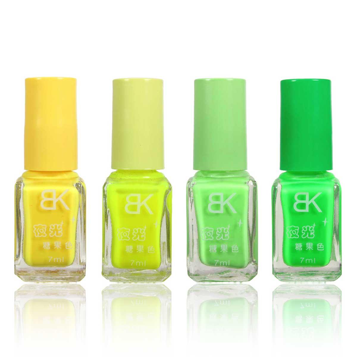 Atractivo Fluorescente Esmalte De Uñas Componente - Ideas Para ...