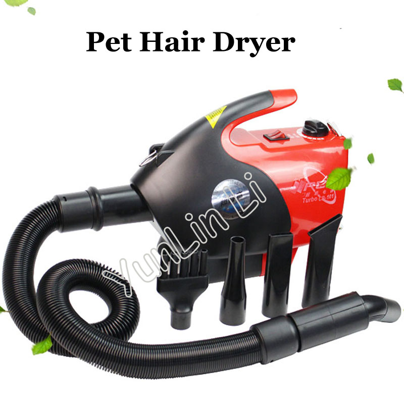 2600W Pet Hair Dryer Infinitely Variable Dog Blower Low Noise Anion Technology Blowing Machine CP-101 1pc hot sale pet dryer dog hair dryer 2600w pet variable speed low noise dog blower blowing machine