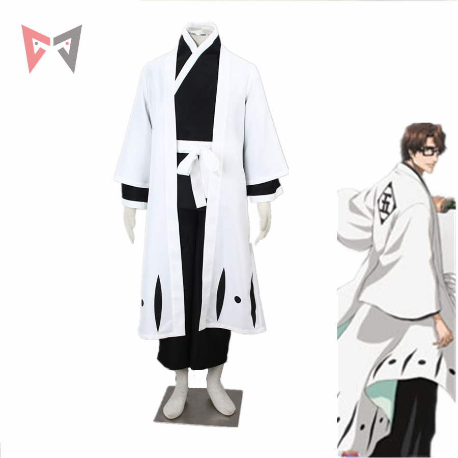 MMGG Bleach cosplay Aizen Sousuke Cosplay costume Kimono Outfit