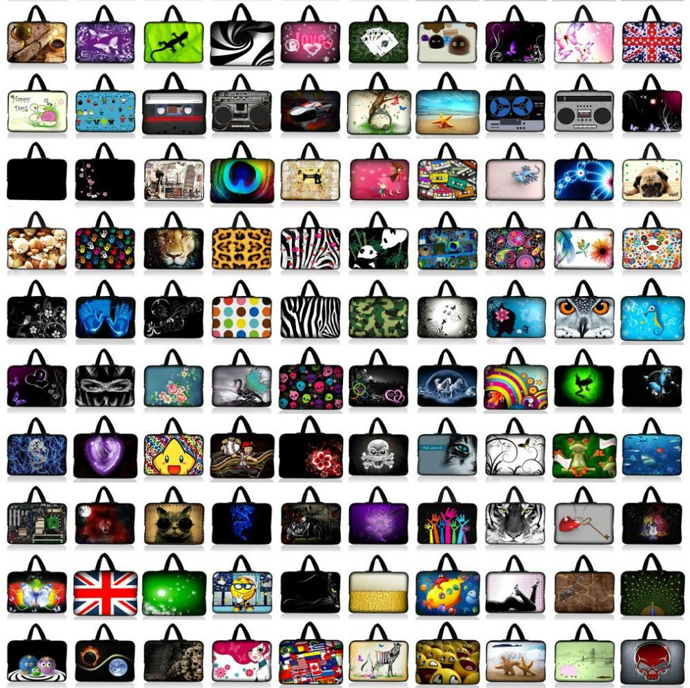 7 10 12 13 14 15 17 Neoprene Laptop Bag Tablet Sleeve Pouch For Notebook Computer Bag 13.3 15.4 17.3 For Macbook Air / Pro #5 #E