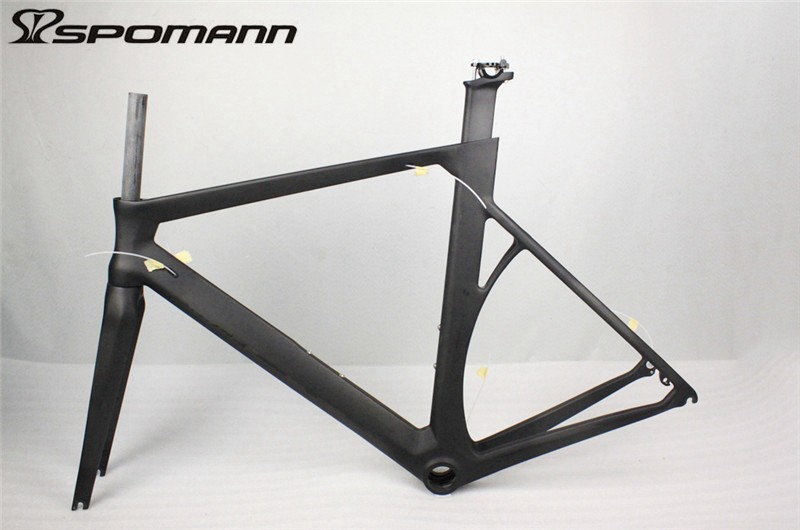 Cheap New PF30 Carbon Fiber Road Bike Frame Carbon Bike Race Cycling Track Frameset UD Ultra-light Carbon Frame Road Bike Parts 2018 carbon fiber road bike frames black matt clear coat china racing carbon bicycle frame cycling frameset bsa bb68