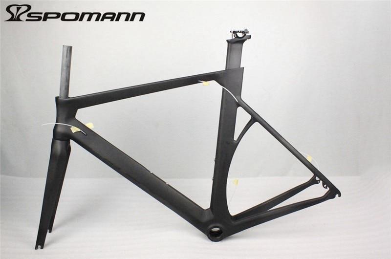 Cheap New PF30 Carbon Fiber Road Bike Frame Carbon Bike Race Cycling Track Frameset UD Ultra-light Carbon Frame Road Bike Parts